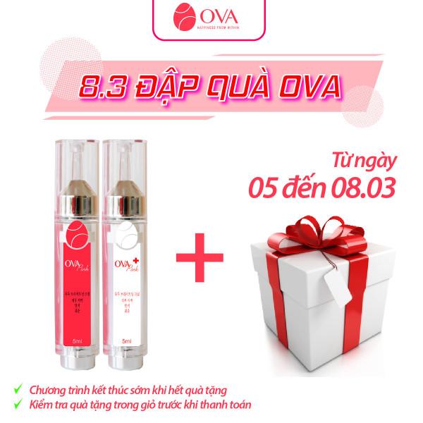 Kem làm hồng nhũ hoa và vùng kín OvaPink, giảm nhanh thâm, ủ dưỡng, làm hồng ti, an toàn và hiệu quả nhanh trong 7 ngày, dung tích 10ml. nhập khẩu