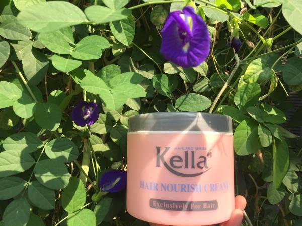 Hấp dầu chăm sóc tóc Kella hồng 500 ml tặng nón trùm tóc