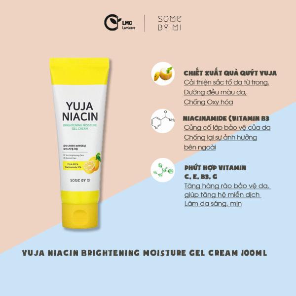 Kem dưỡng ẩm làm sáng da Some by mi yuja niacin brightening moisture gel cream 100ml