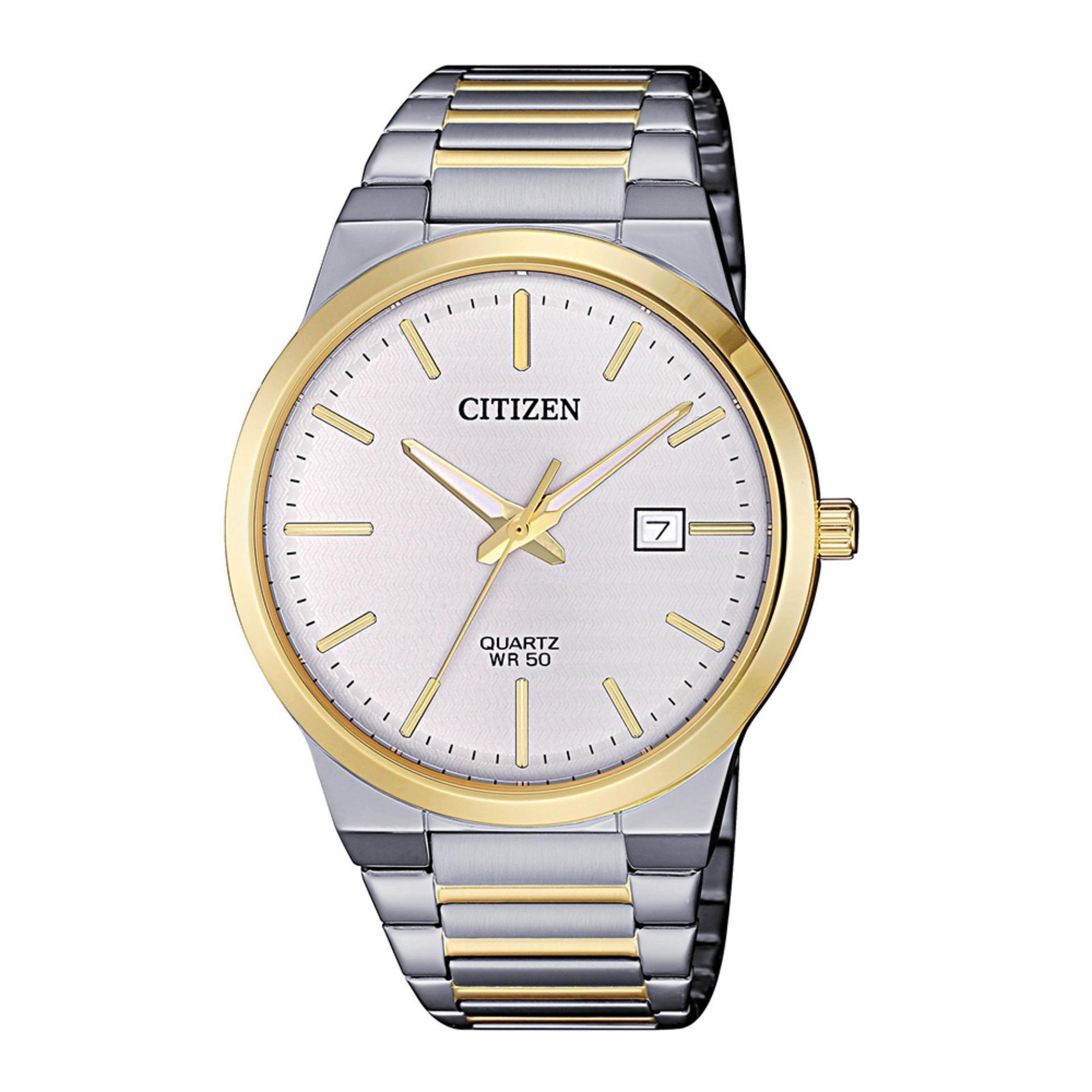 CITIZEN - Đồng Hồ Citizen Nam Quartz, 3 Kim BI5064-50A bán chạy