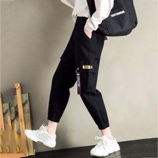 Quần Jogger Túi Hộp Nữ Phối Dây Chất Thun BC Cao Cấp Siêu Co Giãn Thời Trang SMARTLY GIRL WM JOGGER HQ01V3 thumbnail