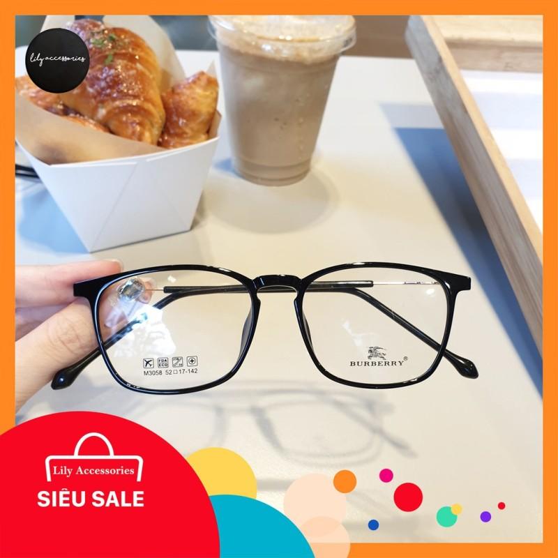 Giá bán Gọng kính cận thời trang  Gọng cận vuông 3058