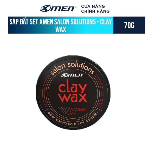 Sáp đất sét Xmen Salon Solutions - Clay Wax 70g