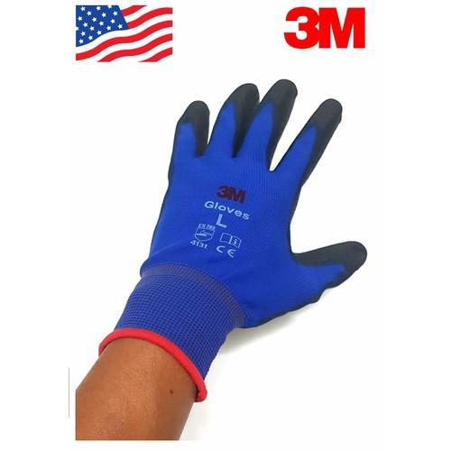 5 Đôi găng tay chống cắt 1, màu xám 3M, size M