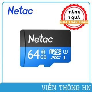 Thẻ nhớ netac class 10 64gb 32gb 16gb dùng cho camera yoosee xiaomi imou hik ezviz .. điện thoại các loại ...vv thumbnail