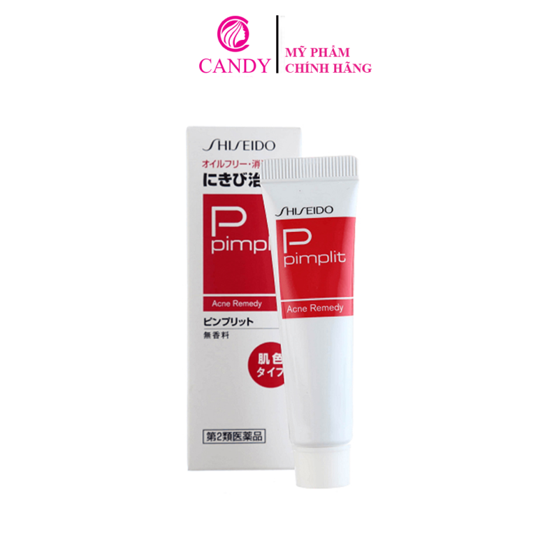 [HCM]Kem Ngăn Ngừa Mụn Shiseido Pimplit Nhật Bản giá rẻ