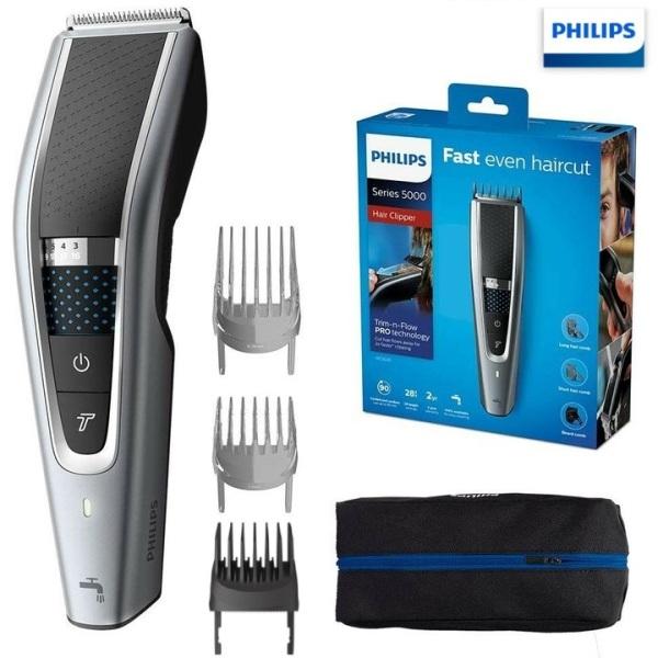 Tông đơ cắt tóc cao cấp Philips HC5690/15 tích hợp 2 lưỡi cắt nhập khẩu