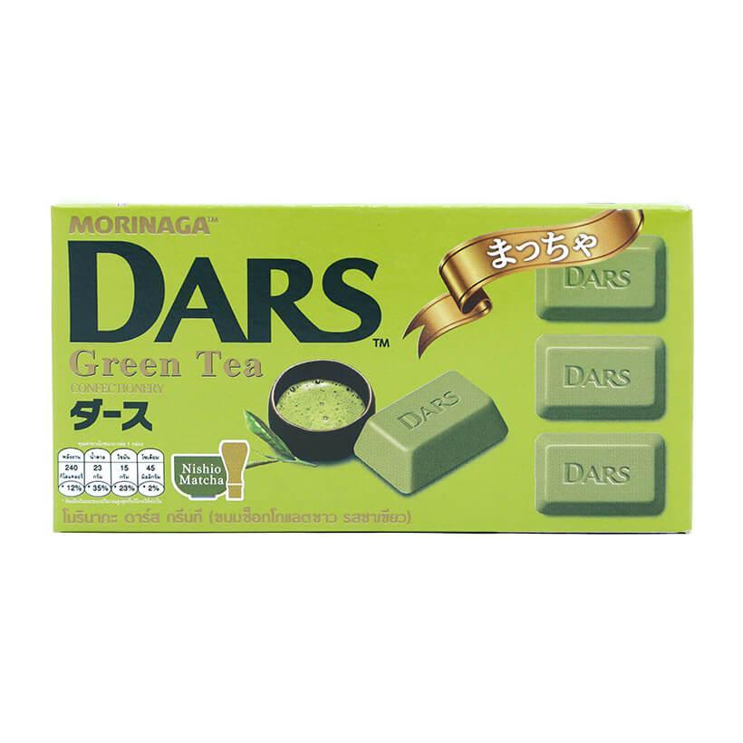 Kẹo Socola trà xanh Dars Morinaga 42g