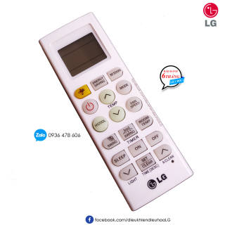 Điều khiển điều hòa LG 1 chiều chính hãng