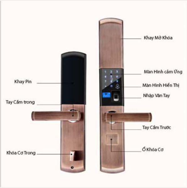 Khóa cửa vân tay thông minh Smartlock SL-01
