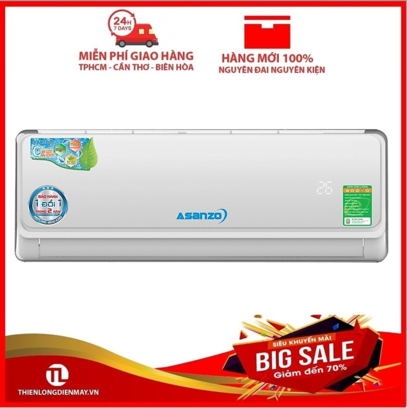 Bảng giá Máy lạnh Asanzo Inverter 1 hp K09A - Bảo hành 2 năm Điện máy Pico