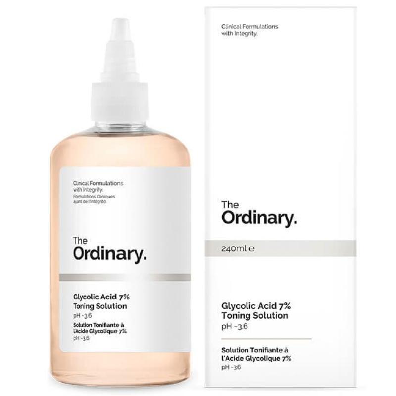 The Ordinary. Glycolic Acid 7% Toning Solution - Toner tẩy tế bào chết hóa học giá rẻ