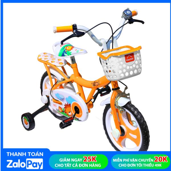 Giá bán Xe Đạp Trẻ Em Nhựa Chợ Lớn 12 inch K102 Dành Cho Bé Từ 3 - 4 Tuổi - M1790-X2B