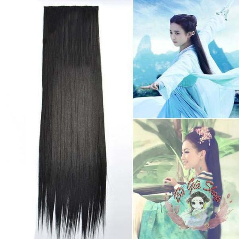 Tóc kẹp nữ dài 80cm nhập khẩu