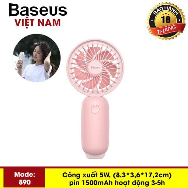 Quạt mini - Quạt tích điện  cầm tay pin sạc Baseus F890 Firefly Mini Fan  (Portable Rechargeable Mini USB Hand Fan) 3-Tốc Độ Có Thể Điều Chỉnh Cho Sinh Viên nhân viên văn phòng - Phân phối bởi Baseus Vietnam