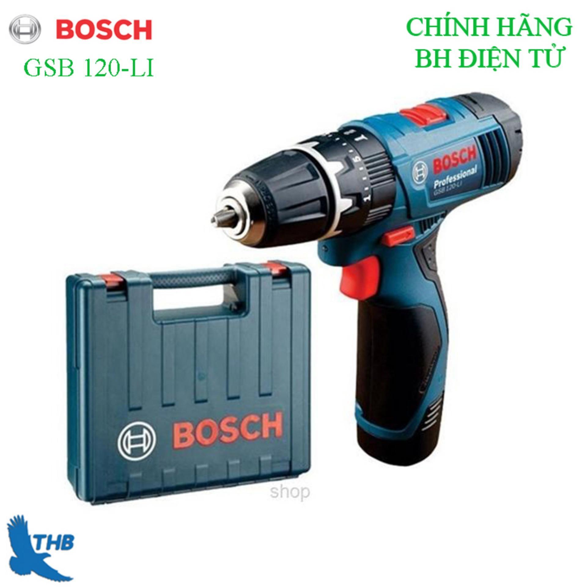 Máy khoan pin bắt vít Bosch GSB 120-LI