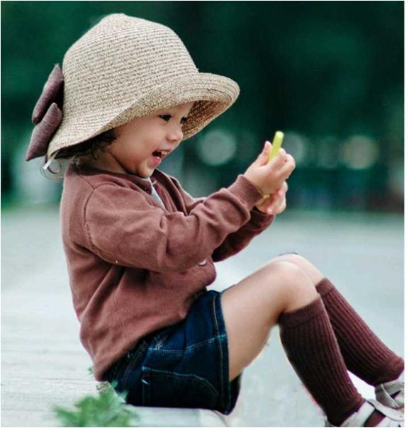 mũ cói gắn nơ cực xinh cho bé, nón cho bé yêu, mũ cho bé yêu, mũ nón cho bé, mũ du lịch
