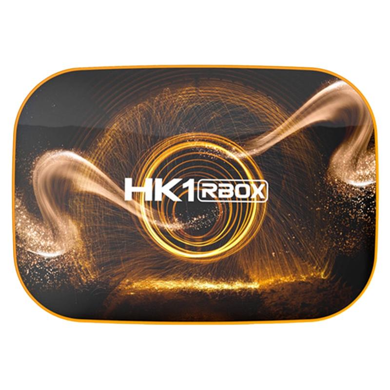 Hk1 Rbox Smart Tv Box Android10 4gb+32gb Rk3318 1080pwifi 4k Google Player Store Netflix Youtube Set Top Box Us Plug.