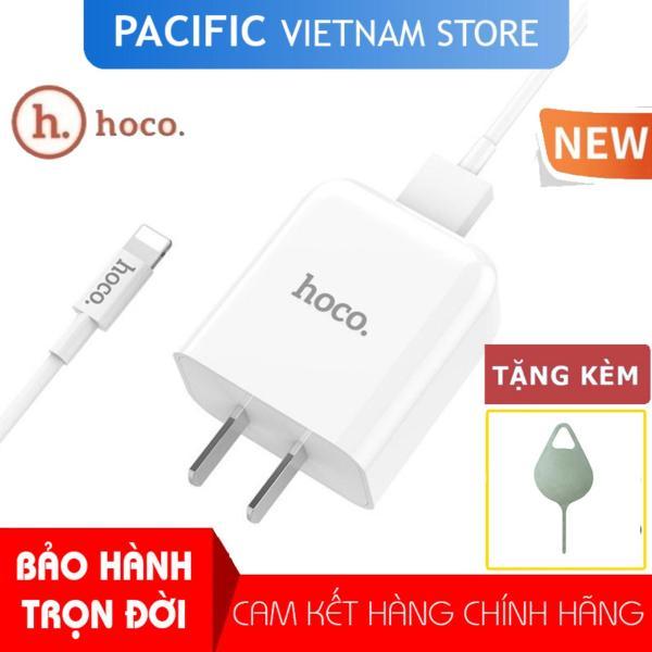 Bộ Cáp Sạc HOCO C49 iPhone Lightning 2A 2019 NEW - Tặng Que Chọc Sim Pacific