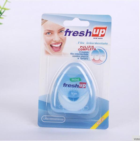 [ GÍA RẼ ] Cuộn chỉ xỉa răng Fresh up 50m . chỉ nha khoa chăm sóc răng miệng giúp cho bạn hơi thở thơm mát giá rẻ
