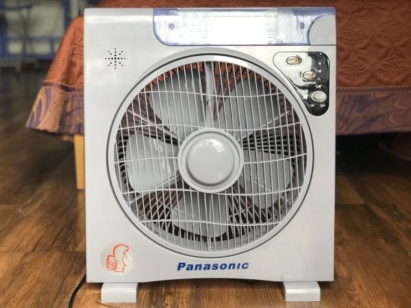 Quạt Sạc Tích Điện Panasonic 6969 - Hàng Chính Hãng Bảo Hành 12 Tháng