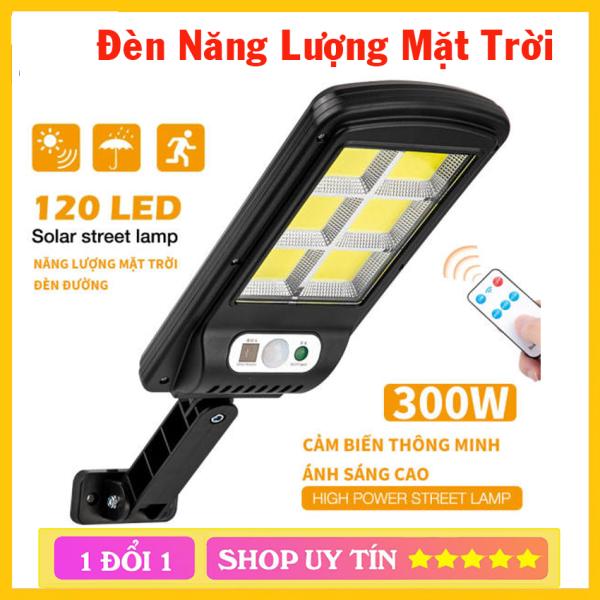 Bảng giá Đèn Năng Lượng Mặt Trời 300W Solar Street Lamp 6 Bóng Cảm Biến Chuyển Động Và đèn solar 100 Led
