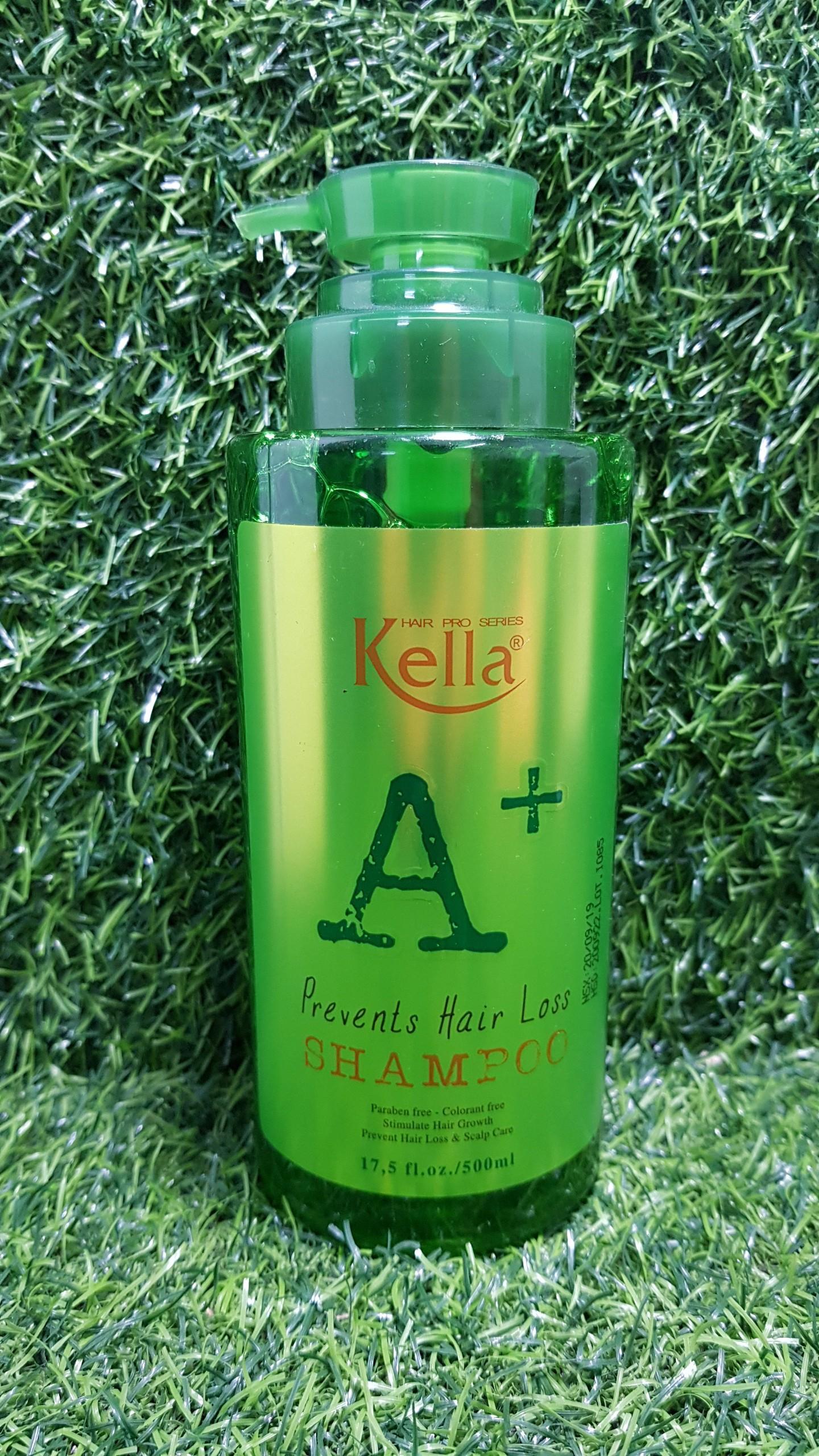 Dầu gội chống rụng và kích thích mọc tóc Kella A+ 500ml giá rẻ