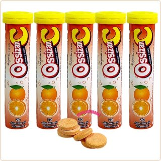 [ Combo 5 túyp] sủi vitamin Ossizan C vị cam Bổ Sung Vitatrmin C Cho Cơ Thể , Tăng Cường Sức Đề Kháng, Tăng Sức Bền Thành Mạch thumbnail