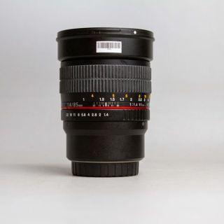 Ống kính máy ảnh Rokinon Samyang 85mm f1.4 MF MFT (85 1.4) 18765 thumbnail