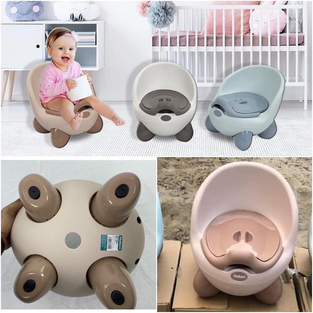 [Hàng Cao Cấp] Ghế Bô Hokori Baby Việt Nhật có tựa lưng cho bé, Bô vệ sinh cho bé chất lượng cao
