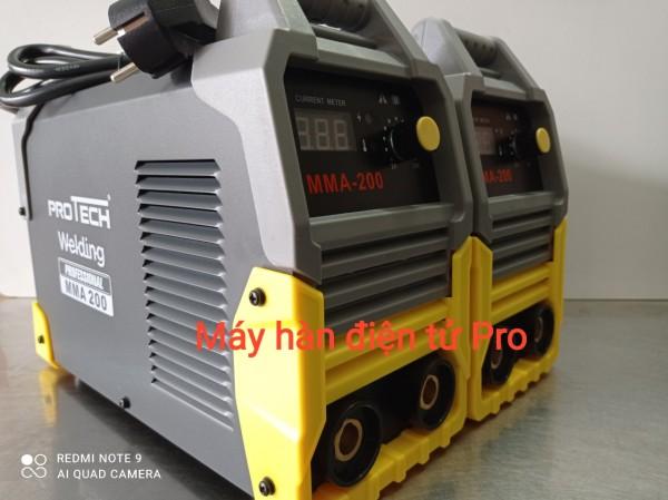 Máy hàn que dùng điện Protech MMA 200 NEW