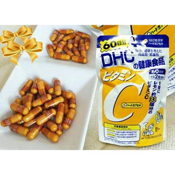 Viên uống Vitamin C DHC 120v 60 ngày