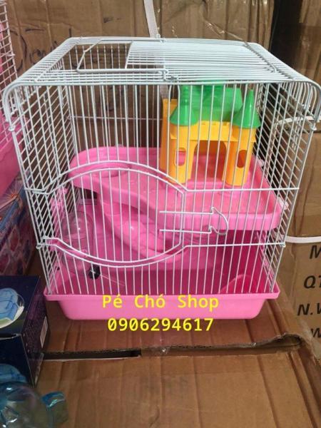 Lồng hamster Lâu Đài 1 tầng hamster size d27r21c30