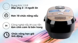 Nồi cơm điện cao tần Midea 1.5 lít MB-HS4007 TRƯNG BÀY thumbnail