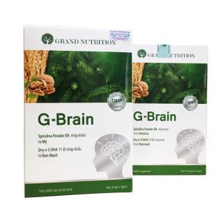 [Chính Hãng] COMBO 3 HỘP G-Brain Hỗ trợ phát triển Trí Não, tăng cường hệ Miễn Dịch cho Trẻ thumbnail