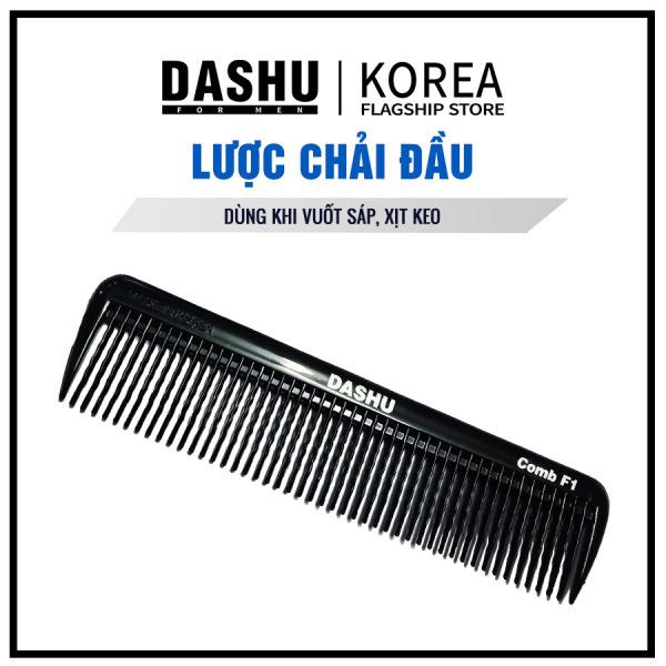 Lược chải tóc Dashu Korea, hàng chính hãng, nhỏ gọn dễ dùng dành cho cả Nam Nữ, thuận tiện khi tạo kiểu với Sáp hoặc Pomade nhập khẩu