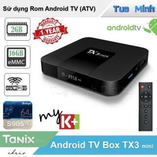 Android TV Box TX3 mini - Ram 2GB bộ nhớ trong 16GB Bluetooth thumbnail