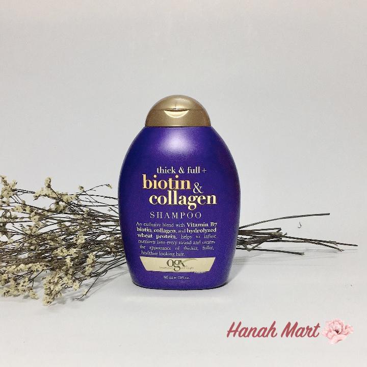 [Flash Sale] Dầu xả làm dày và mượt tóc Biotin & Collagen, USA(385ml) cao cấp