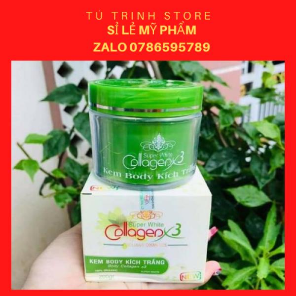 Kem Body Kích Trắng Collagen X3 cao cấp