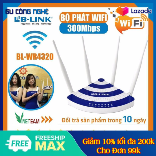 Bảng giá Xả Kho Bộ Phát Sóng Wifi Lb-Link Bl-Wr4320 300Mbps -Dc478 Phong Vũ