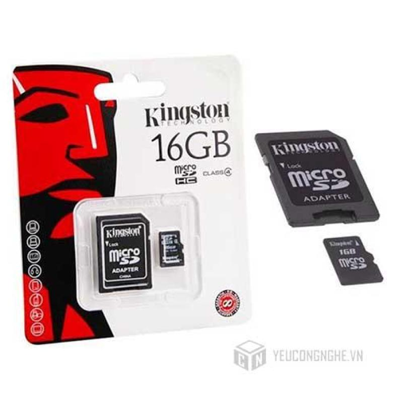 Thẻ Nhớ Micro SD Kingston 16G Class 10