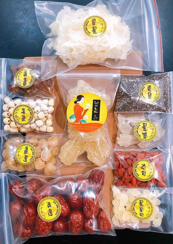 Lazada Giảm Giá Khi Mua Chè Dưỡng Nhan Tuyết Yến Mỹ Nhân Set Nấu 15-16 Chai 330ml- An An Food