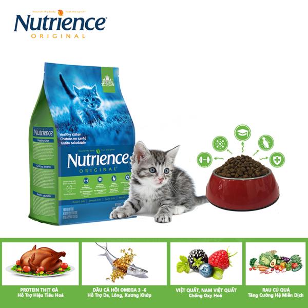 Thức Ăn Cho Mèo Con Nutrience Original - Thịt Gà, Rau Củ Và Trái Cây Tự Nhiên