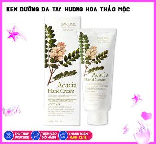 Kem Dưỡng Da Tay Chiết Xuất Hoa Acacia 3W Clinic Hand Cream 100ml thumbnail