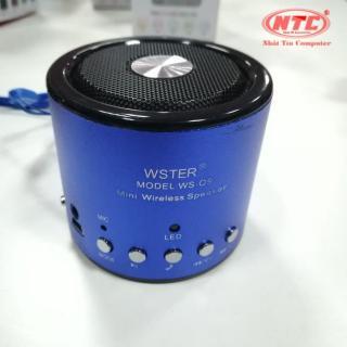 [HCM]Loa bluetooth đa năng Wster WS-Q9 hỗ trợ Bluetooth thẻ nhớ USB FM AUX Tai nghe (ngẫu nhiên) - Nhất Tín Computer thumbnail