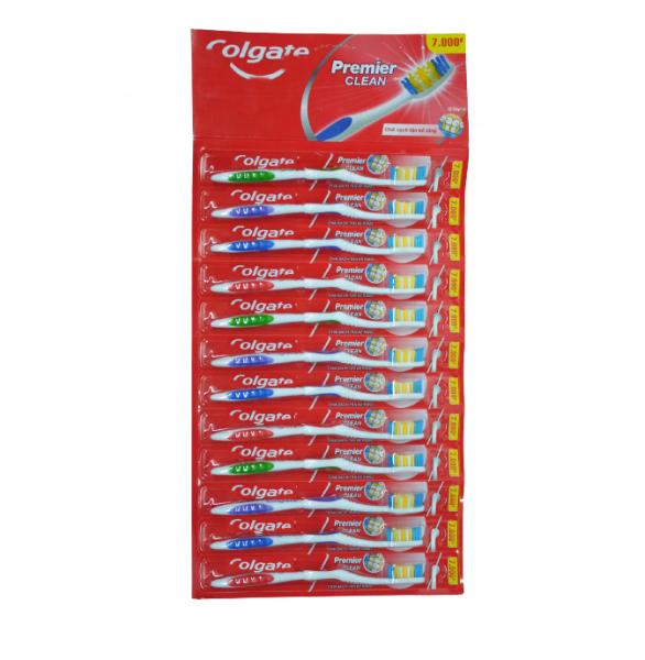(CP)Bàn chải đánh răng Colgate Premier Clean (Combo 6) giá rẻ
