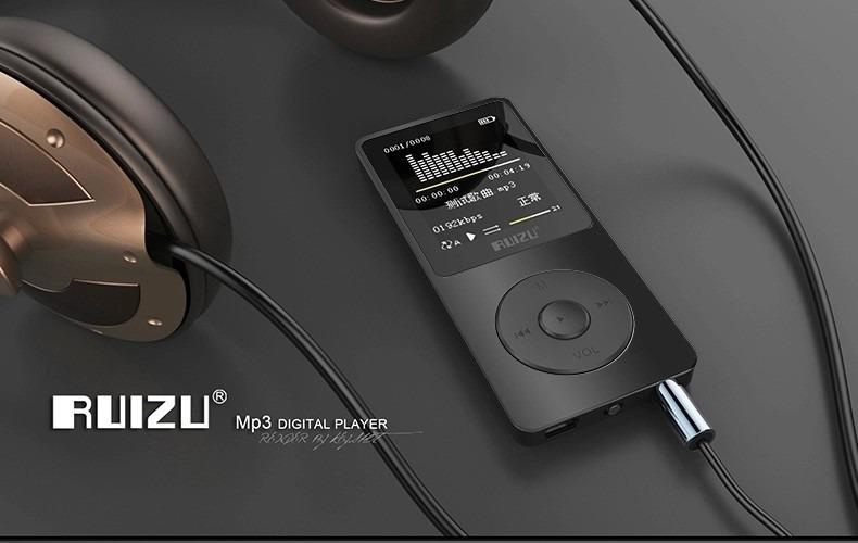 Cơ Hội Giá Tốt Để Sở Hữu Máy Nghe Nhạc Lossless RUIZU X02 4GB Kèm Tai Nghe HiFi