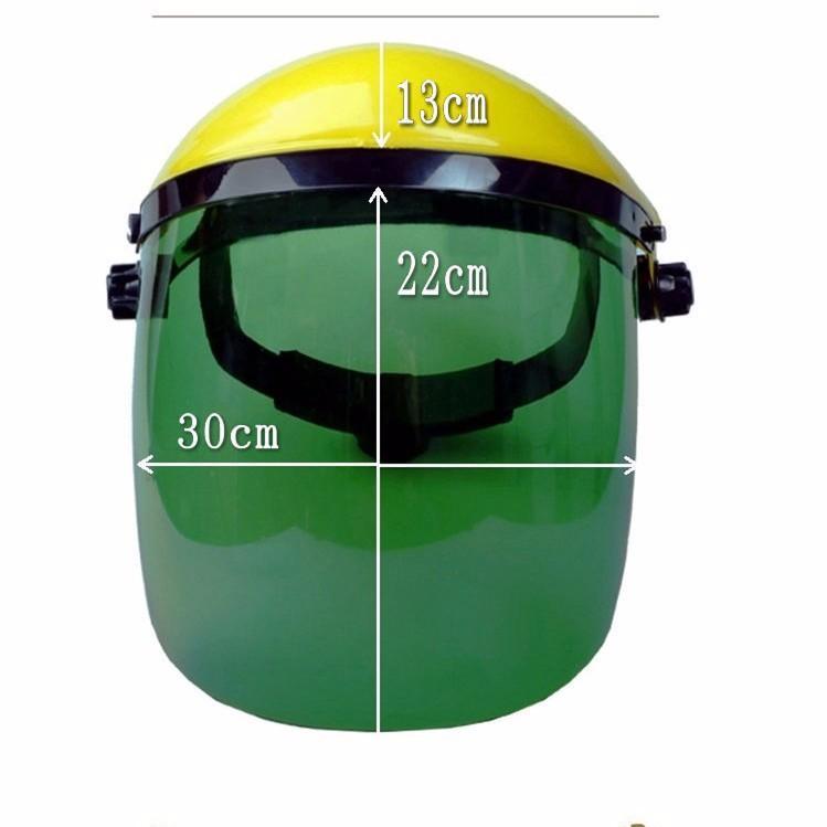 Mũ kính bảo hộ bảo vệ che mặt-Màu XANH
