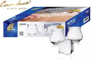 BỘ 12 ỐNG GIÁC HƠI THỦY TINH CAMDACO GLASS WARE thumbnail