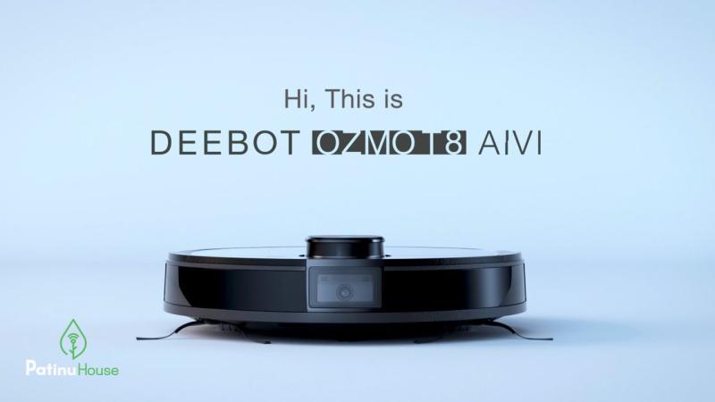 Robot hút bụi Ecovacs OZMO T8 AIVI Bảo hành 12 tháng